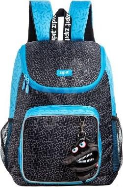 Zip It School Bag Premium With Free Mini Pouch Black