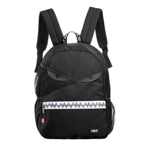 Zip It School Bag Razor Black