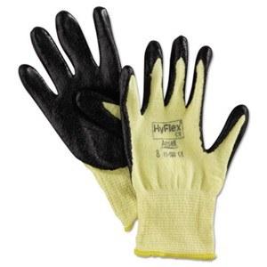 HyFlex Work Gloves #8 (12) B/Y