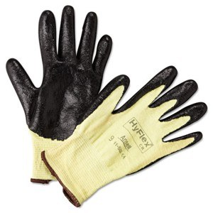 HyFlex Work Gloves #9 (12) B/Y