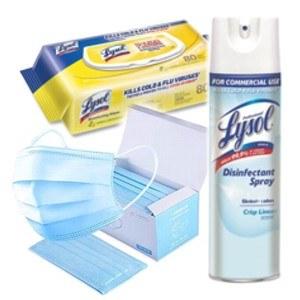 Emergency PPE Lysol Kit