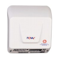 Nova1 White Aluminum Hand Dryer