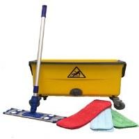 Microfiber Mop Bucket Kit 11gl