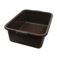 "Bus Tub 16"" x 21"" x 7"" Brown"