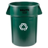 Brute 32 Gal Recycle Green
