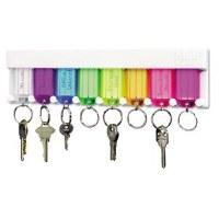 Key Rack, Multi-Color 8 Keys