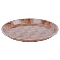 "Basketweave Plates 10"" (12)"