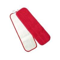 "Microfiber Flat Pad 18"" Red"