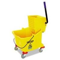 Mop Bucket/Wringer Combo 32qt. Sidepress