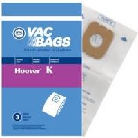 """DVC Hoover Vac Bags """"K"""" (3)"""
