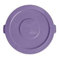Round 32 Gal Flat Lid Purple