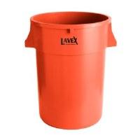 Round 44 Gal Container Orange
