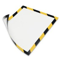 Magneto Safety Sign Frame Yellow/Black (2)
