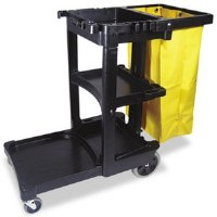 Rubbermaid Cleaning Cart w/ Zipper Bag