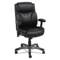 Alera Veon Series Mid-Back Leather Manager's Chair