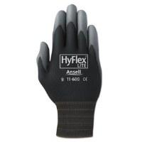 HyFlex Work Gloves #9 (12) Blk