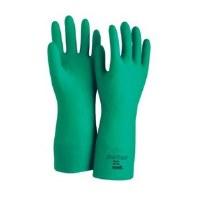 "Solvex Nitrile 18"" Gloves Size 7"
