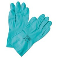 "Solvex Nitrile 18"" Gloves Size 8"