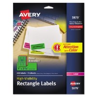 Avery High Visiblity Labels