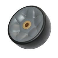 Fuller Brush Rear Rubber Wheel