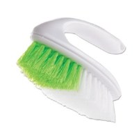 Iron Handle Scrub Brush Gr/Wh