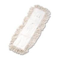 "Dust Mop Refill 24"" x 5"" White"