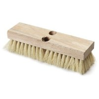 "Deck Brush 10"" White Tampico"