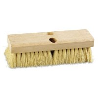 "Deck Brush 10"" Cream Polypropylene"
