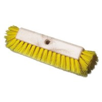 "Deck Brush 10"" Yellow Dual Surface"
