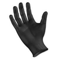 Nitrile PF BK Gloves LRG (100)