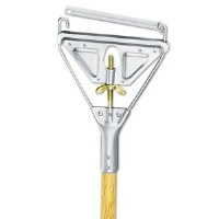 "Screw Clamp 57"" Metal Mop Handle"