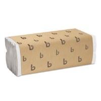 Boardwalk White C-Fold Towels #6220