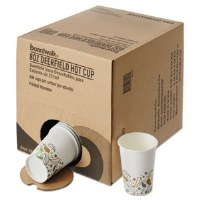 Paper Hot Cups Disp Pack 8oz