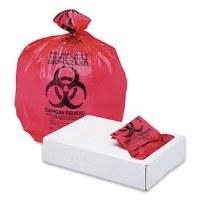 "Biohazard RedCan Liners 40"" x 46""  1.3mil (100)"