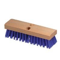 "Deck Brush 10"" Polypro Blue"