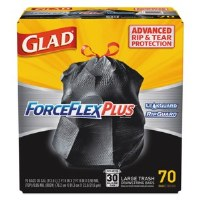 Glad ForceFlexPlus Large Drawstring Bags (70)