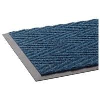 Chevron Scraper 3'x5' Blue