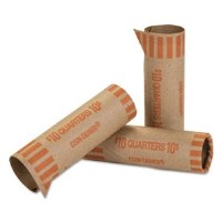 Coin Wrappers Quarters (1000)