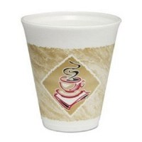 Dart Cafe G 12oz Foam Cup 1000