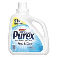 Purex Free & Clear Liquid Laundry Detergent 150oz (4)