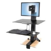 WorkFit-S Sit-Stand Workstation w/Worksurface