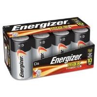 Energizer D Batteries (8)