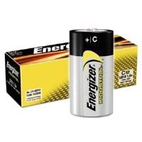 "Energizer Industrial Alkaline ""C"" Battery"