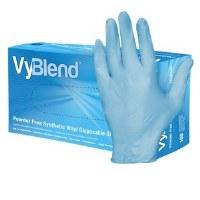VyBlend Gloves Blue MD 10/100