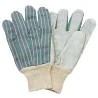Leather Palm Gloves LRG (pair)
