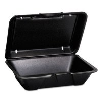 Foam Container 1-Comp Deep BK