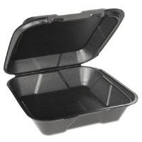 Foam Container 1-Comp Large BK