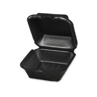 Foam Container 1-Comp Small BK