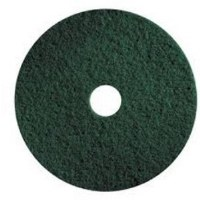 "Floor Pads 10"" Green Scrub (5)"