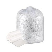 "Hi-Density Clear Can Liners 24"" x 24"" 8mic (1000)"